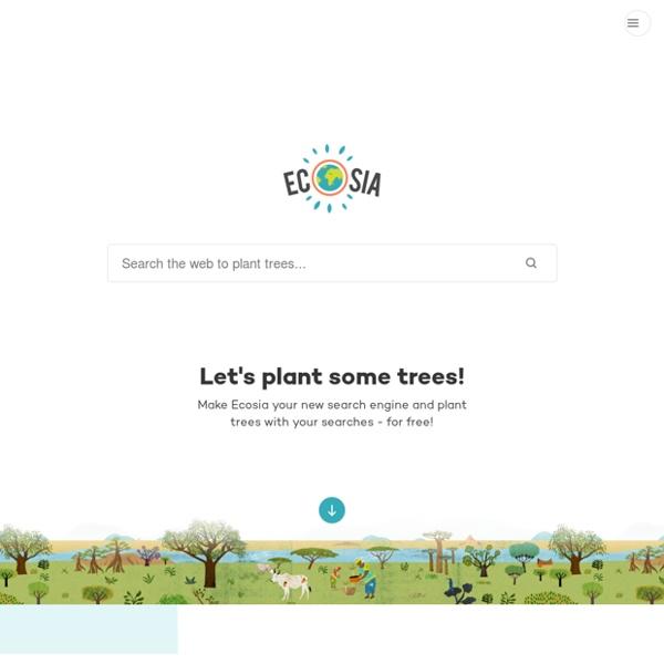 Ecosia - La recherche verte