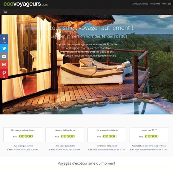 Ecotourisme et voyage responsable - Ecovoyageurs.com