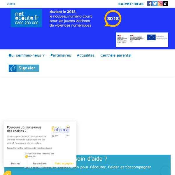 Net Ecoute 0800 200 000 - Ecoute contre le cyber-harcèlement