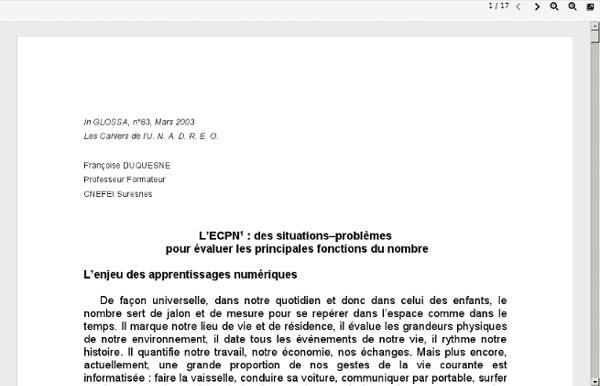 ECPN-glossa