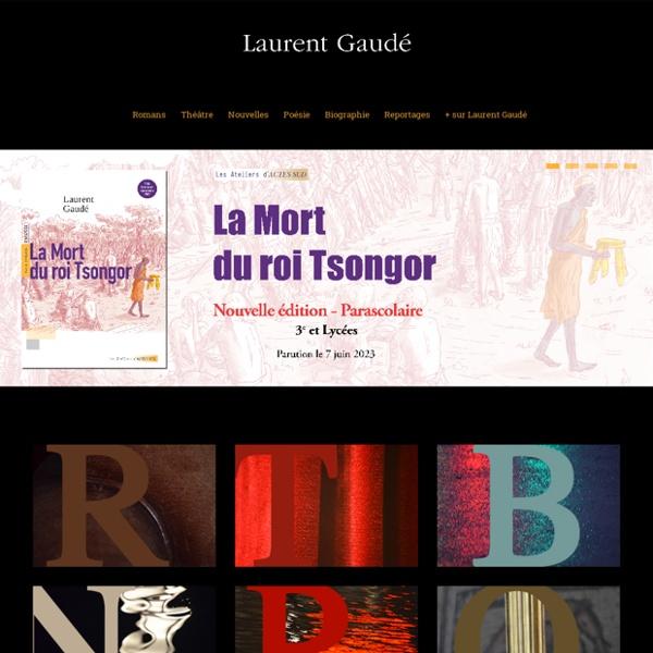 Laurent Gaudé - écrivain français - Laurent Gaude, écrivain français, prix goncourt 2004