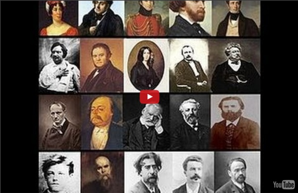 Les grands écrivains français du 16ème au 19ème siècle