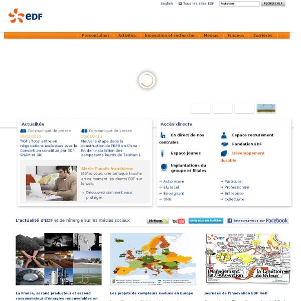 Parlons d'électricité - EDF - Accueil - Bienvenue dans le forum Parlons d'Electricité et venez poser vos questions à EDF