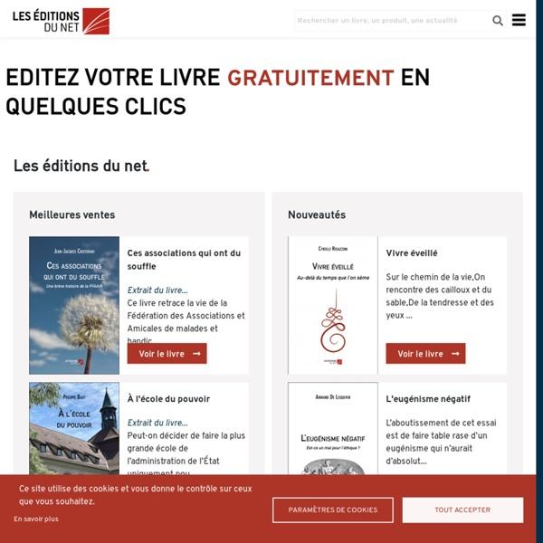 Editer son livre en ligne, maison d'édition française en ligne - Les Éditions du Net