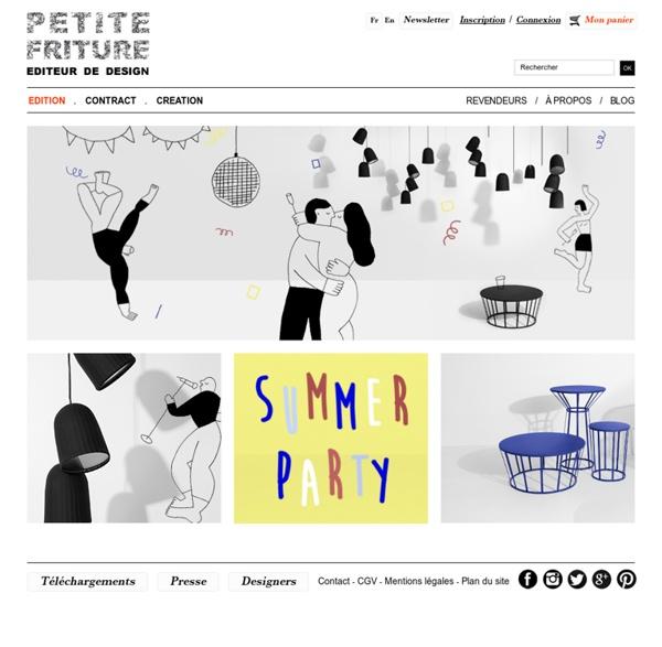 Editeur de design - PETITE FRITURE - Editeur de Design