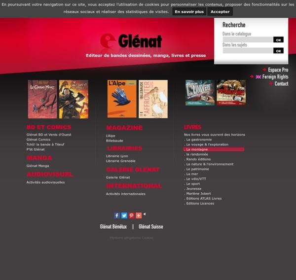 Glénat, éditeur de bandes dessinées, manga, livres et presse