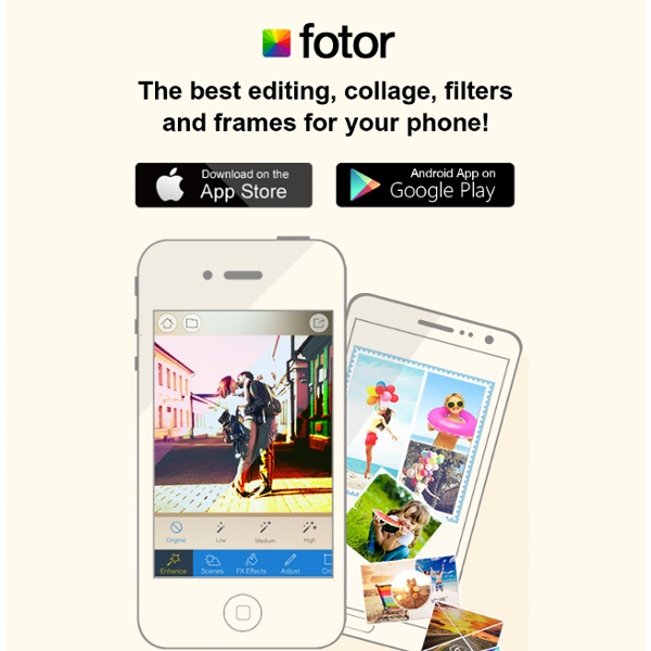 Fotor - Free Online Photo Editing & Creatives | Pearltrees: www.pearltrees.com/u/74974760-editing-simple-online-editor