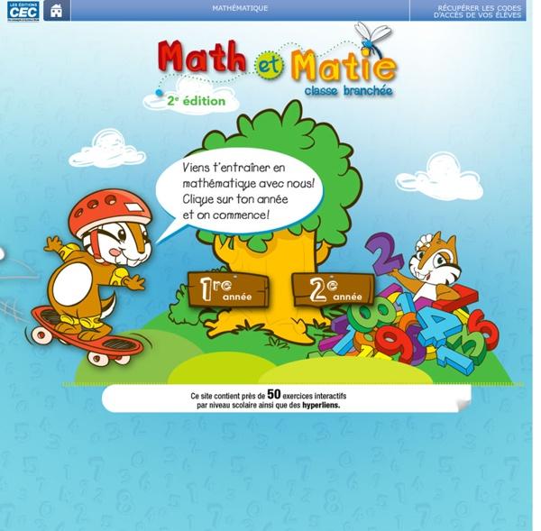 Récupéré: Les éditions CEC - Math et Matie