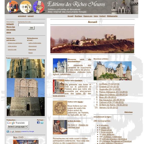 L'encyclopedie du patrimoine architectural francais.