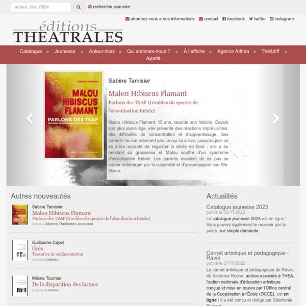 Éditions Théâtrales