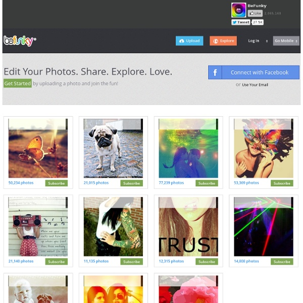 Home - Photo editor and photo effects online, edit images with BeFunky