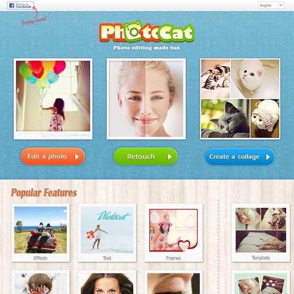 Edita fotos en línea fácilmente