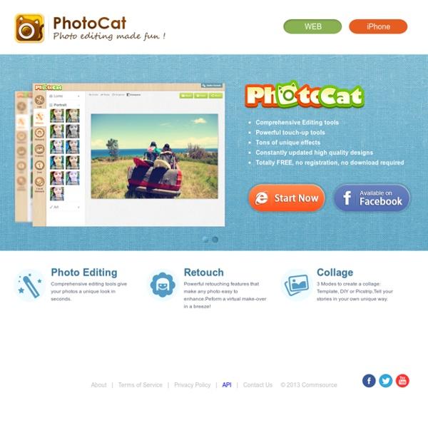 PhotoCat: Free Online photo Editing