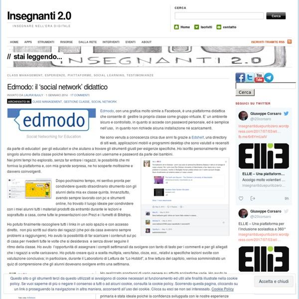 Edmodo: il 'social network' didattico