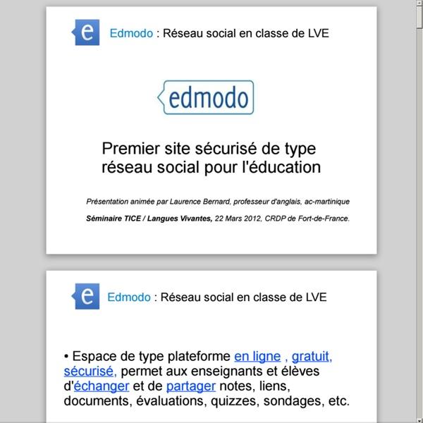 Edmodo-prof-PREAO.pdf (application/pdf Object) | Pearltrees