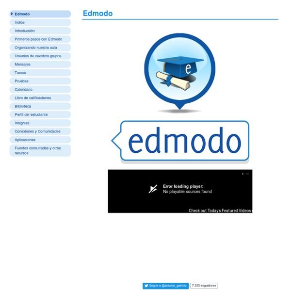 Edmodo. Redes sociales para el aula