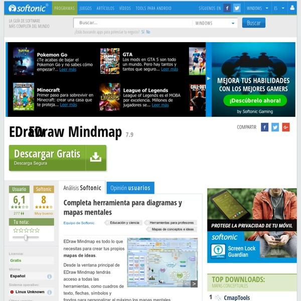 EDraw Mindmap - Descargar