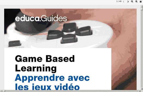 Apprendre avec les jeux vidéo