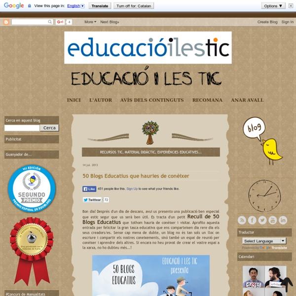 50 Blogs Educatius que hauries de conèixer