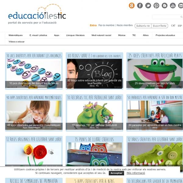 Educació i les TIC - Portal de serveis per a l'educació