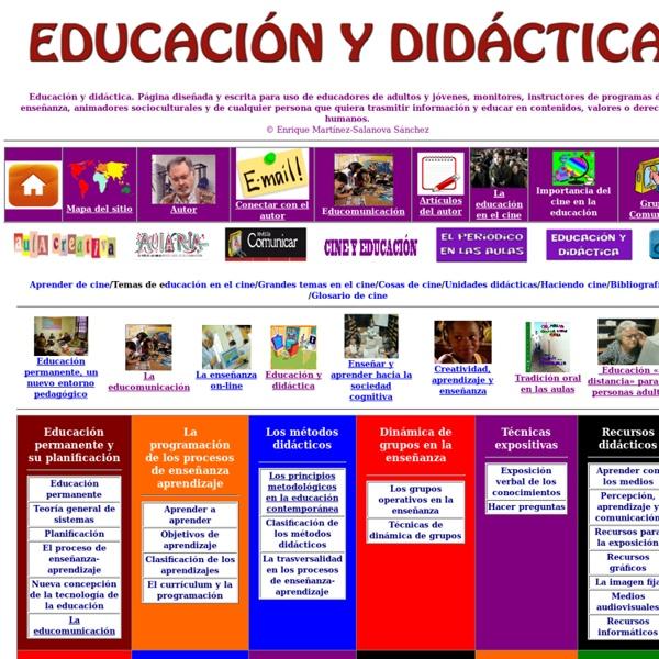 Educación y didáctica