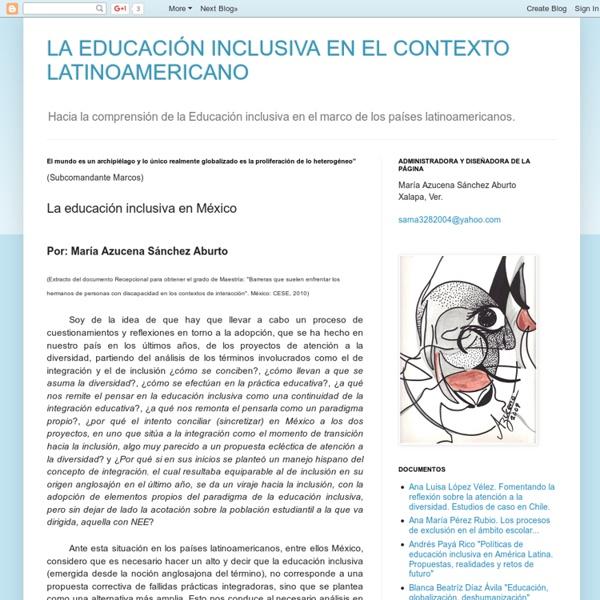 La educación inclusiva en México