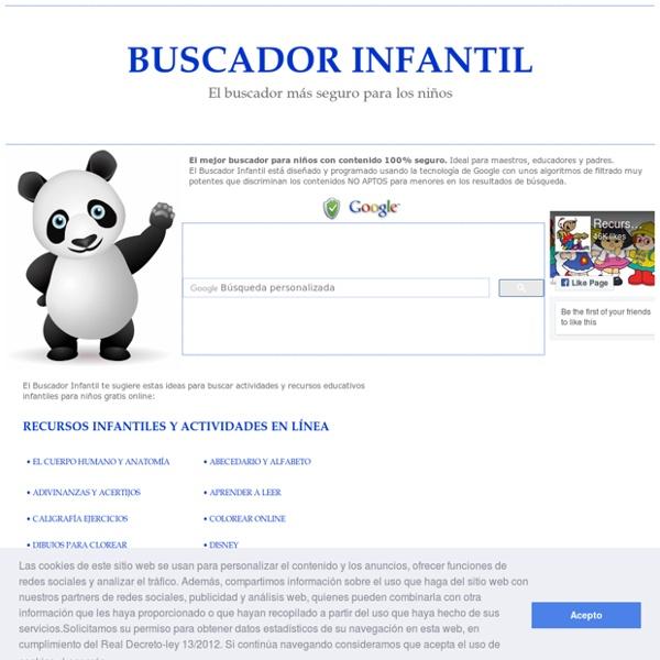 BUSCADOR INFANTIL . EL BUSCADOR PARA NIÑOS