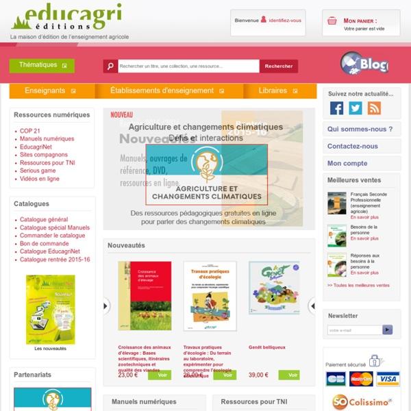 Editions - Educagri éditions