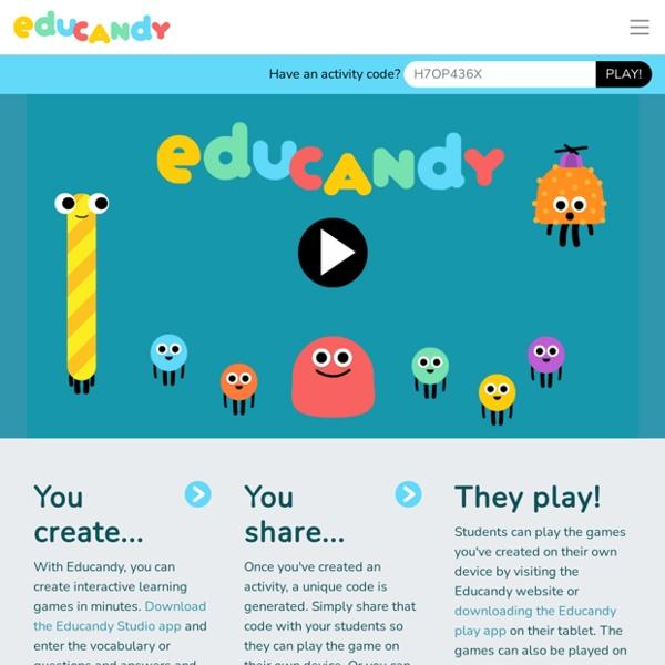 Educandy – Making learning sweeter!