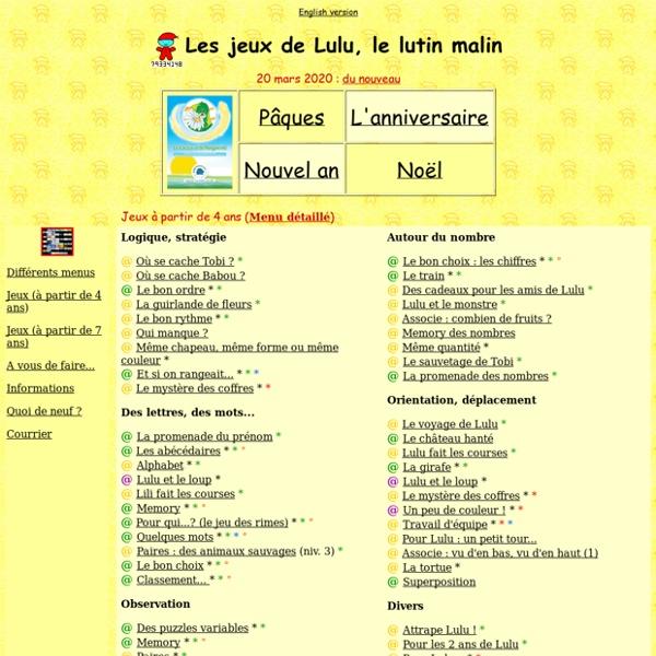 Les jeux de Lulu