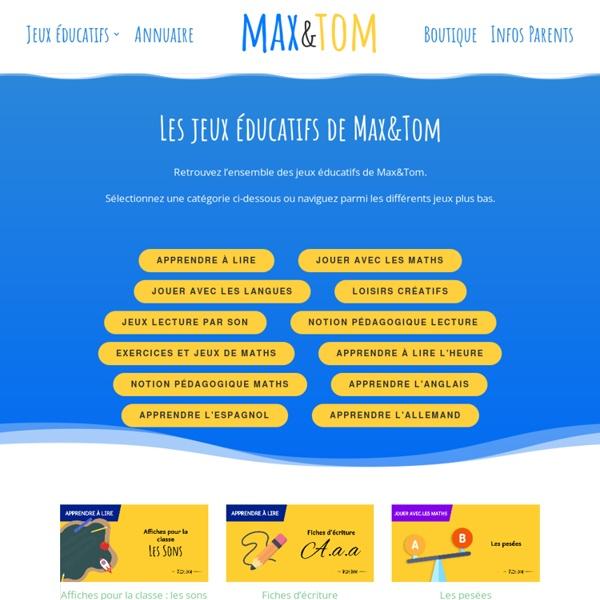 Jeux éducatifs gratuits en ligne : école maternelle GS primaire CP CE1