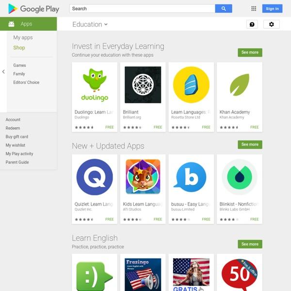 Најпопуларније бесплатно у категорији Образовање – Android апликације на Google Play-у