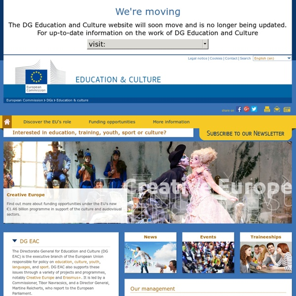 European Commission - Education & Training