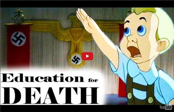 Education for Death: The Making of the Nazi (1943) - Animated Propaganda Short Film by Walt Disney
