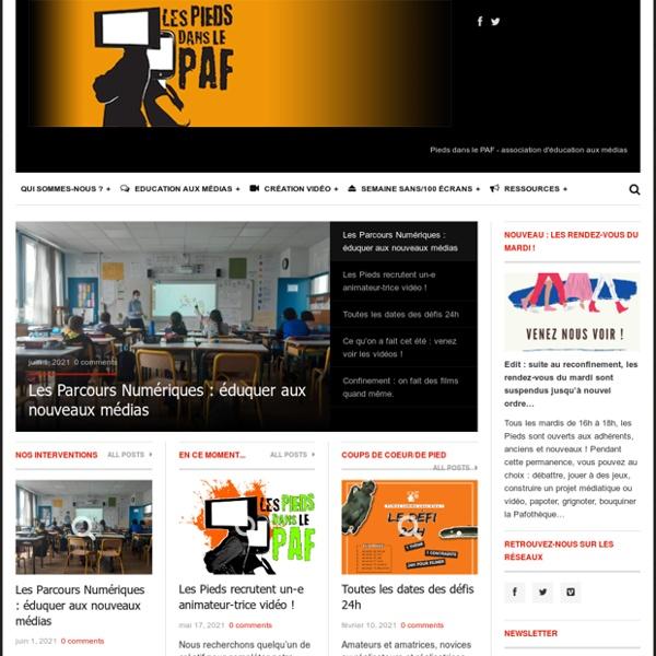 Education aux médias et création audiovisuelle