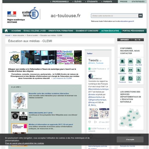 Education aux médias - CLEMI