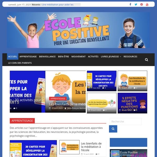 L'école Positive : Pour une éducation bienveillante