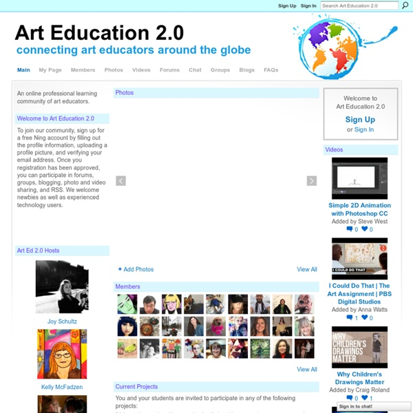 Art Education 2.0 - connecting art educators around the globe