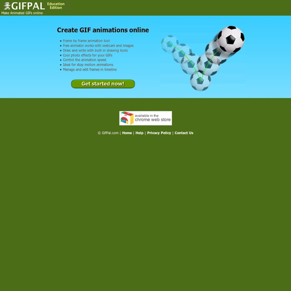 GIFPAL Education Edition - Make GIF animations online
