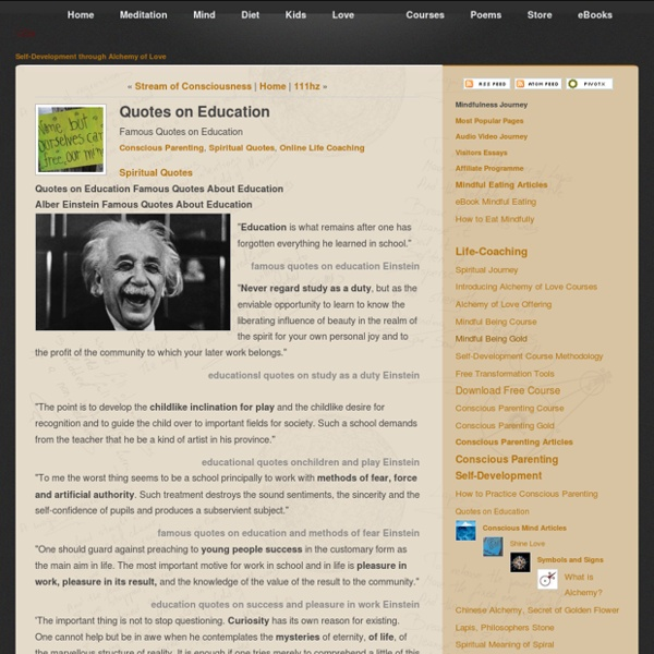Famous Education Quotes from Einstein and Steiner