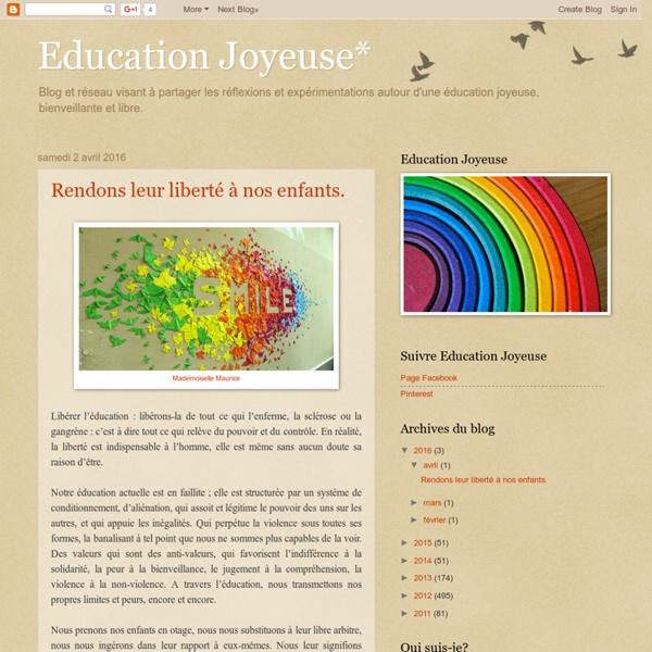 Education Joyeuse*
