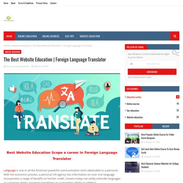 Foreign Language Translator
