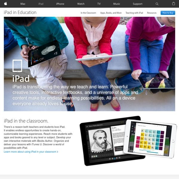 Education - iPad makes the perfect learning companion
