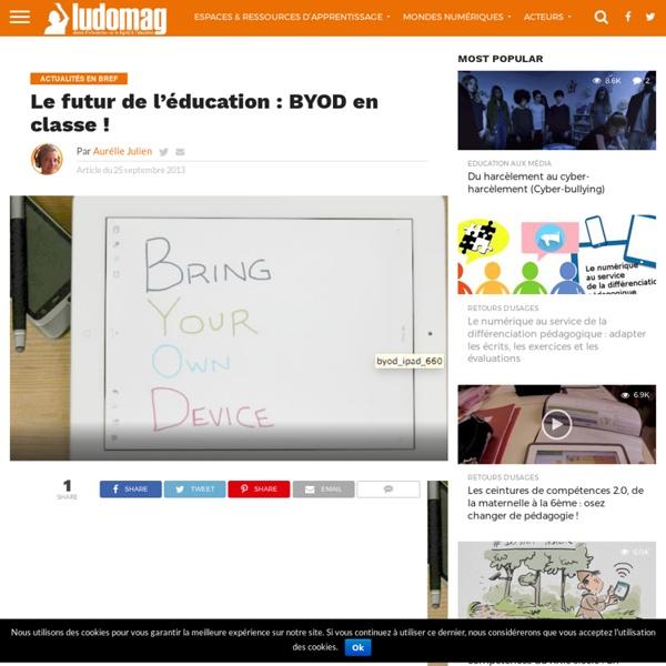 Le futur de l'éducation : BYOD en classe !
