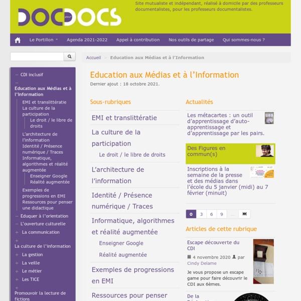EMI - Education aux Médias et à l'Information