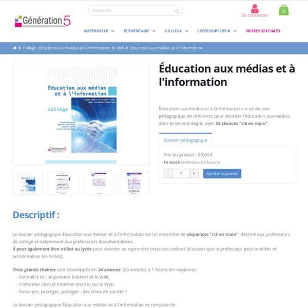 Education aux médias et à l'information