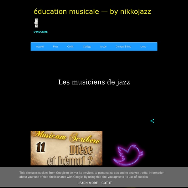 Éducation musicale — by nikkojazz