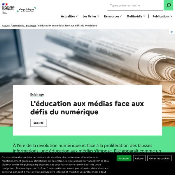 L'éducation aux médias face aux défis du numérique