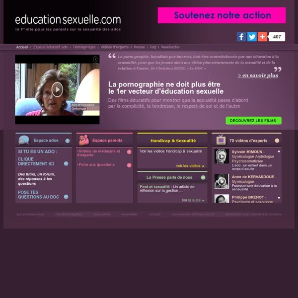 Education sexuelle - Accueil