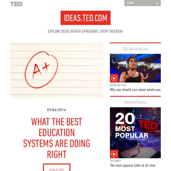What the best education systems are doing right